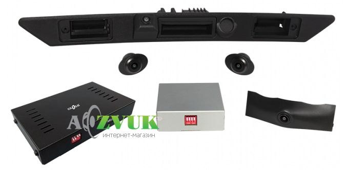 Видеорегистратор Gazer CKR4413-D4 (Audi A8)