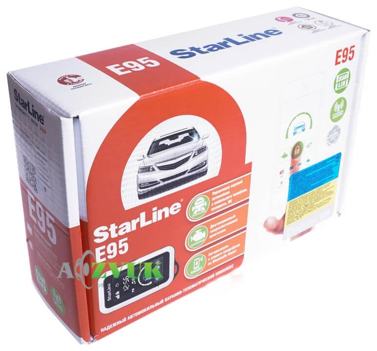 Автосигнализация StarLine E95 BT 2CAN+LIN GSM