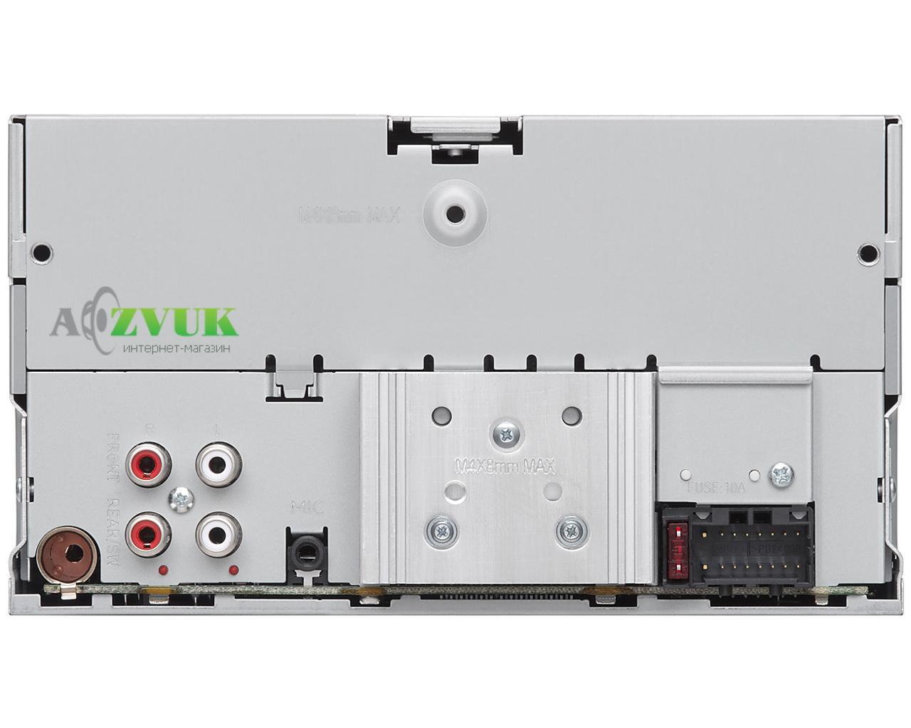 Автомагнитола 2-DIN JVC KW-X830BT