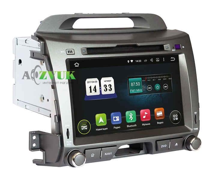 Штатная Магнитола Incar TSA-1881 Kia Sportage R 2010+ Android 8.0