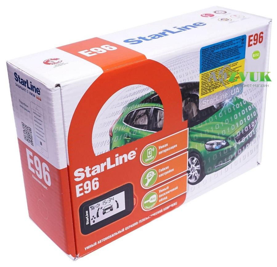 Автосигнализация StarLine E96 BT 2CAN+2LIN ECO