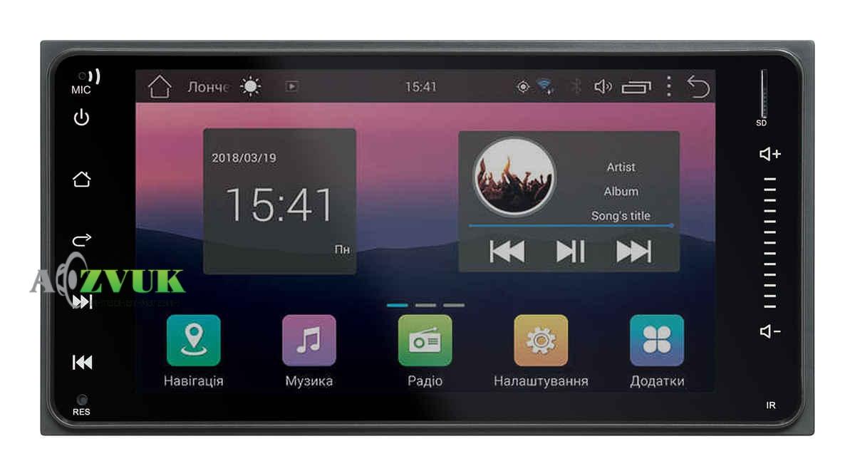 Штатная Магнитола Swat AHR-4185 Toyota FJ Cruiser Android 7.0