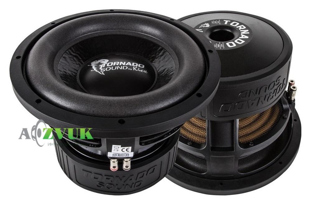 Сабвуфер Kicx Tornado Sound 12