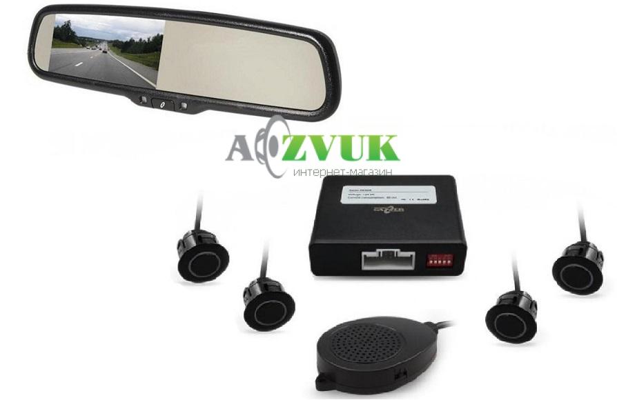 Парктроник Gazer MU700 + Gazer PA40R