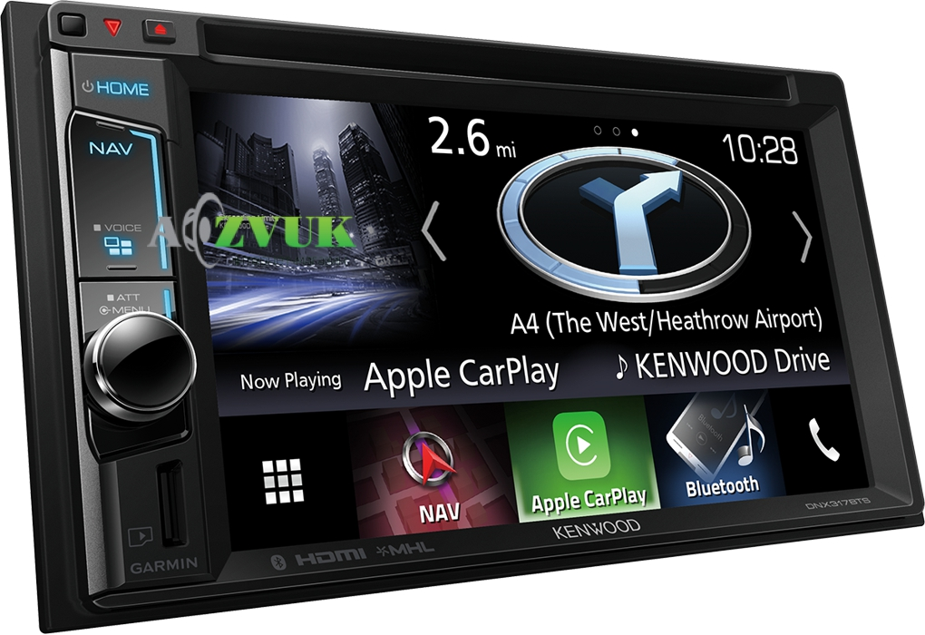 Автомагнитола DVD Kenwood DNX-317BTS