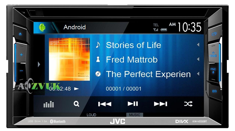 Автомагнитола DVD JVC KW-V230BTQN