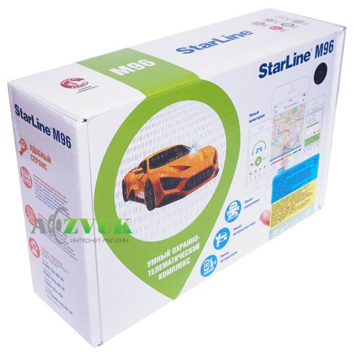 Автосигнализация StarLine M96 L с автозапуском двигателя