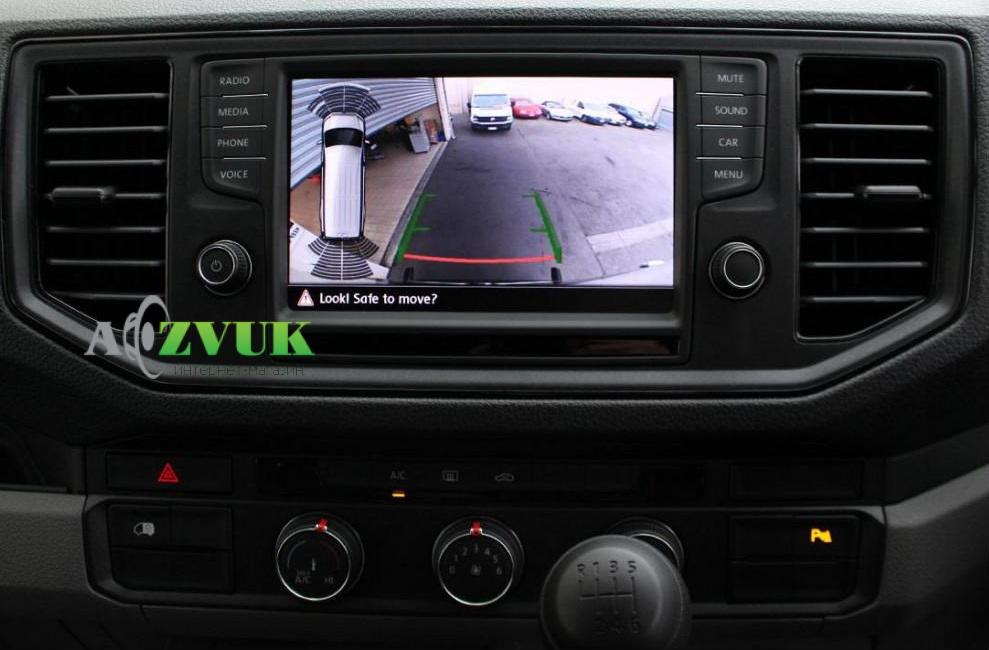Рамка переходная Carav 11-785 VW Crafter 2017+
